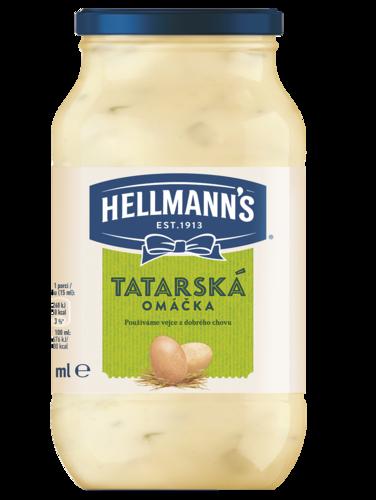 Hellmann's majonéza, tatarská omáčka 650ml, vybrané druhy