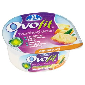 Milko Ovofit Tvarohový dezert, vybrané druhy