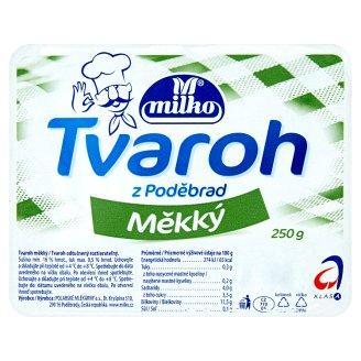 Milko Tvaroh z Poděbrad 250g, vybrané druhy