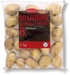 Brambory konzumní pozdní, varný typ B 2kg