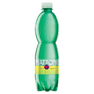 Mattoni ochucená minerální voda 0,5l, vybrané druhy