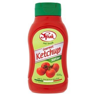 Spak Gourmet Kečup 500g, vybrané druhy