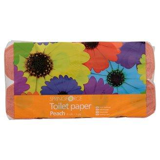 Springforce Toaletní papír 2-vrstvý, vybrané druhy