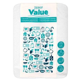 Tesco Value Kuchyňské utěrky 2-vrstvé