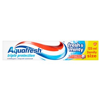 Aquafresh zubní pasta, vybrané druhy
