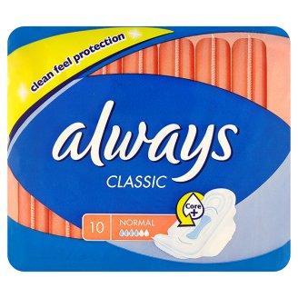 Always Classic hygienické vložky (8-10ks), vybrané druhy