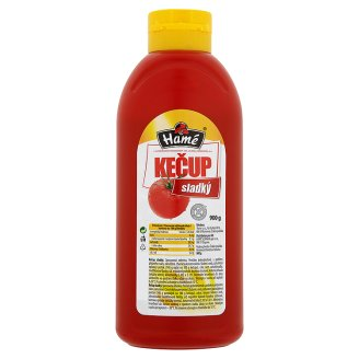 Hamé Kečup 900g, vybrané druhy