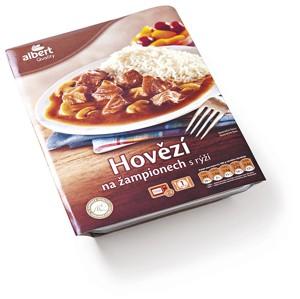 Albert Hotová jídla, vybrané druhy