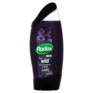 Radox Men 2v1 pánský sprchový gel a šampon 250ml