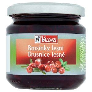 Valenzi Brusinky lesní 220g
