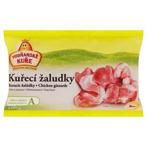 Vodňanské Kuře Kuřecí žaludky hluboce zmrazené 500g