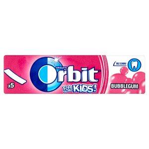 Wrigley's Orbit For Kids! žvýkačka bez cukru s ovocnou příchutí 13g