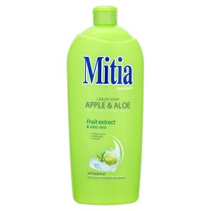 Mitia Tekuté mýdlo refill apple & aloe 1000ml