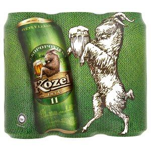 Velkopopovický Kozel 11 pivo ležák světlý 6 x 500ml