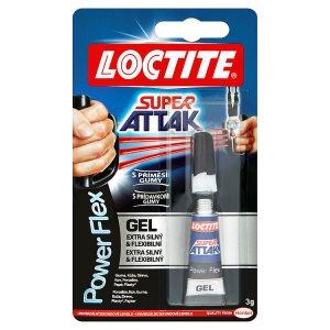 Loctite Super Attak Power Flex univerzální sekundové lepidlo 3g