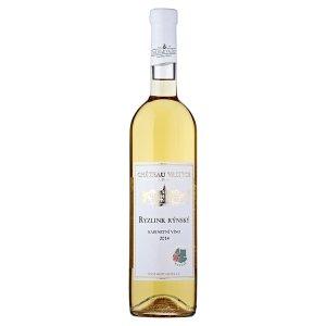 Château Valtice Ryzlink rýnský 2014 kabinetní bílé víno s přívlastkem suché 0,75l