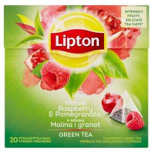 Lipton zelený čaj, vybrané druhy 20 sáčků