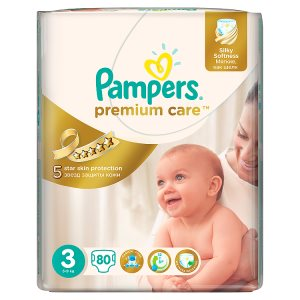 Pampers Premium Care Pleny 3 Midi 80 ks