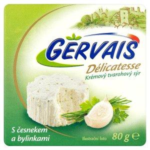 Gervais Délicatesse Krémový tvarohový sýr 80g, vybrané druhy