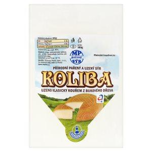 Mlékárna Polná Koliba přírodní pařený a uzený sýr 100g