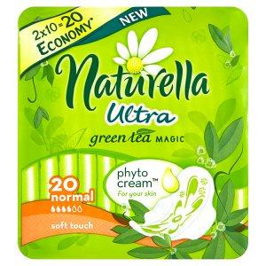 Naturella Green Tea Magic Ultra normal hygienické vložky s jemnou vůní 20 ks