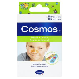 Hartmann Cosmos Dětské náplasti ve 2 velikostech 20 ks