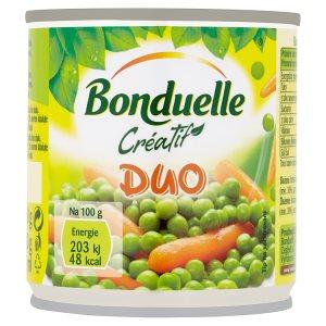 Bonduelle Créatif Duo zeleninová směs v mírně slaném nálevu 200g