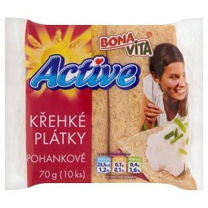 Bona Vita Active Křehké plátky 10 ks 70g, vybrané druhy