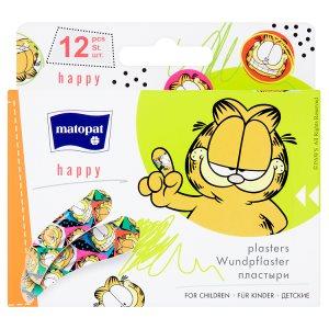 Matopat Happy Náplasti pro děti 12 ks