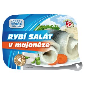 Rybex Rybí salát v majonéze 150g