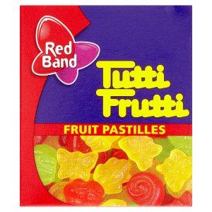 Red Band Tutti Frutti Želé s ovocnou příchutí 15g