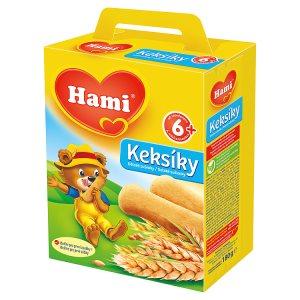 Hami dětské sušenky 180g, vybrané druhy