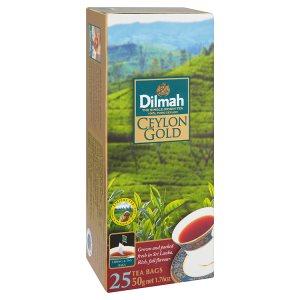 Dilmah Ceylon gold černý čaj 25 sáčků 50g
