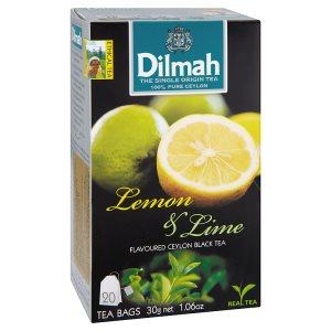 Dilmah černý čaj ochucený, vybrané druhy 20 sáčků