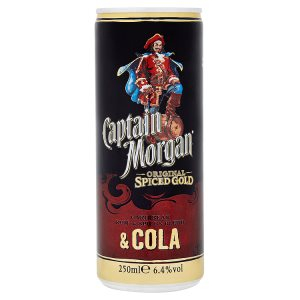 Captain Morgan & Cola 0,25l