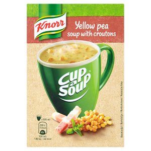 Knorr Cup a Soup instantní polévka, vybrané druhy
