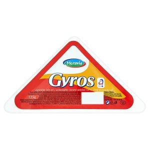 Moravia Gyros kořeněný bílý sýr 125g