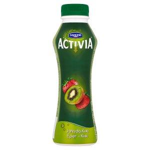 Danone Ativia Jahoda kiwi jogurtový nápoj 310g