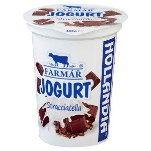Hollandia Krémový jogurt farmář stracciatella 400g