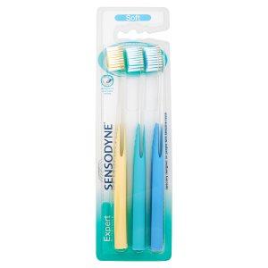 Sensodyne Expert soft zubní kartáček 3 ks