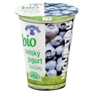 Hollandia Bio jogurt selský borůvky 180g