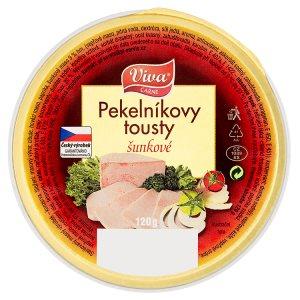 Viva Carne Pekelníkovy tousty šunkové 120g