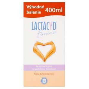 Lactacyd Femina Emulze pro intimní hygienu na každodenní péči s obsahem kyseliny mléčné 400ml