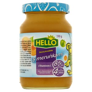 Hello Ovocná přesnídávka s vitaminem C 190g, vybrané druhy