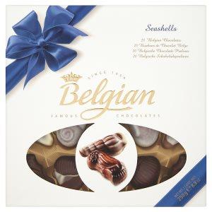 Belgian Mořské plody čokoládové bonbóny 250g