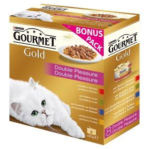 GOURMET Gold 8 x 85g, vybrané druhy