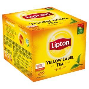 Lipton Yellow Label Tea 200 sáčků 400g