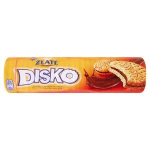 Opavia Zlaté Disco sušenky s čokoládovou náplní 157g