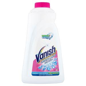 Vanish Oxi Action Crystal White tekutý odstraňovač skvrn na bílé prádlo 10 praní 1l