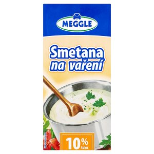 Meggle Smetana na vaření 10% 1l